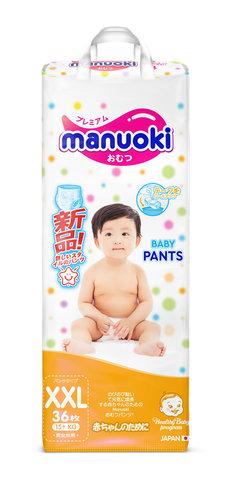 Трусики MANUOKI, 15+ кг (XXL)