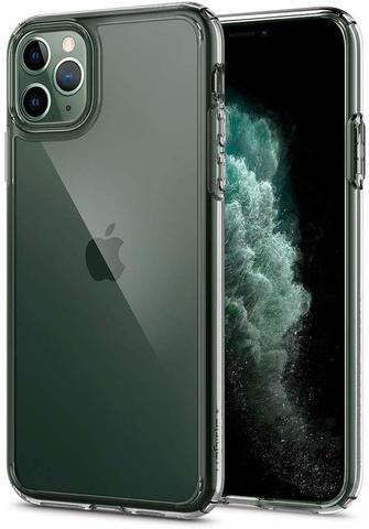 Чехол Spigen Ultra Hybrid Designed для Apple iPhone 11 Pro Max Case (2019) - Crystal Clear