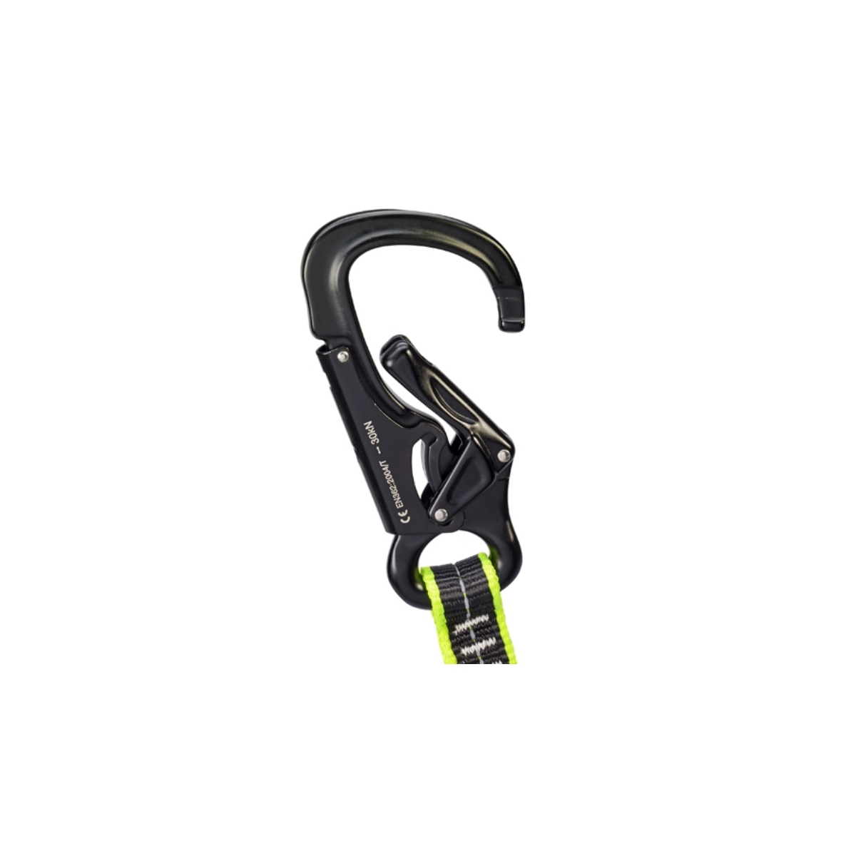 Tethers with premium aluminium safety hook
