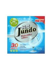 Таблетки для посудомоечных машин Jundo Active Oxygen с активным кислородом 30 шт
