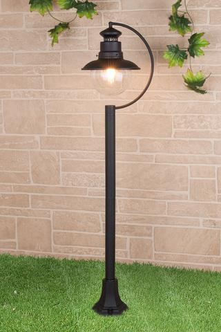 Talli F черный уличный светильник на столбе IP44 GL 3002F