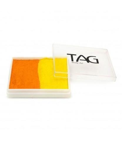 Аквагрим TAG 50гр перламутровый желтый/оранжевый