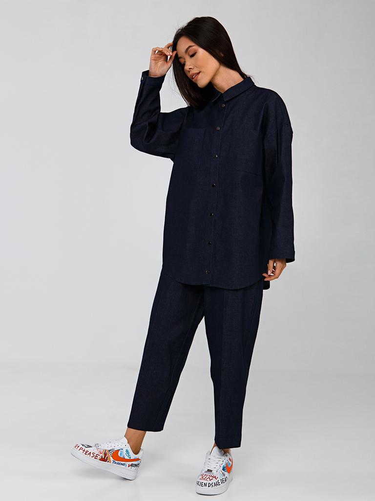 Рубашка джинсовая YOS от украинского бренда Your Own Style