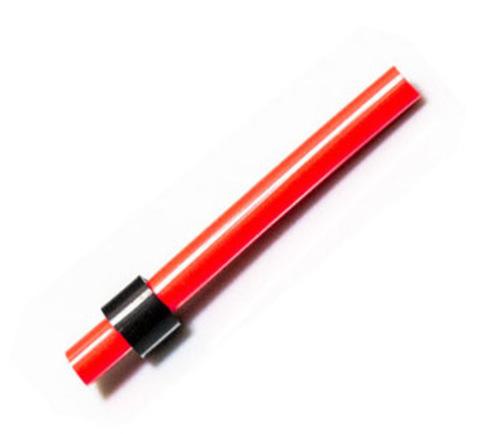 Сторожок силиконовый красный 5 см, тест 7 г