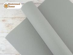 Фетр ЖЕСТКИЙ корейский серый 1,2 мм (лист 22*30 см)