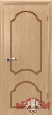 Дверь Владимирская фабрика дверей 3ДГ1, цвет светлый дуб, глухая