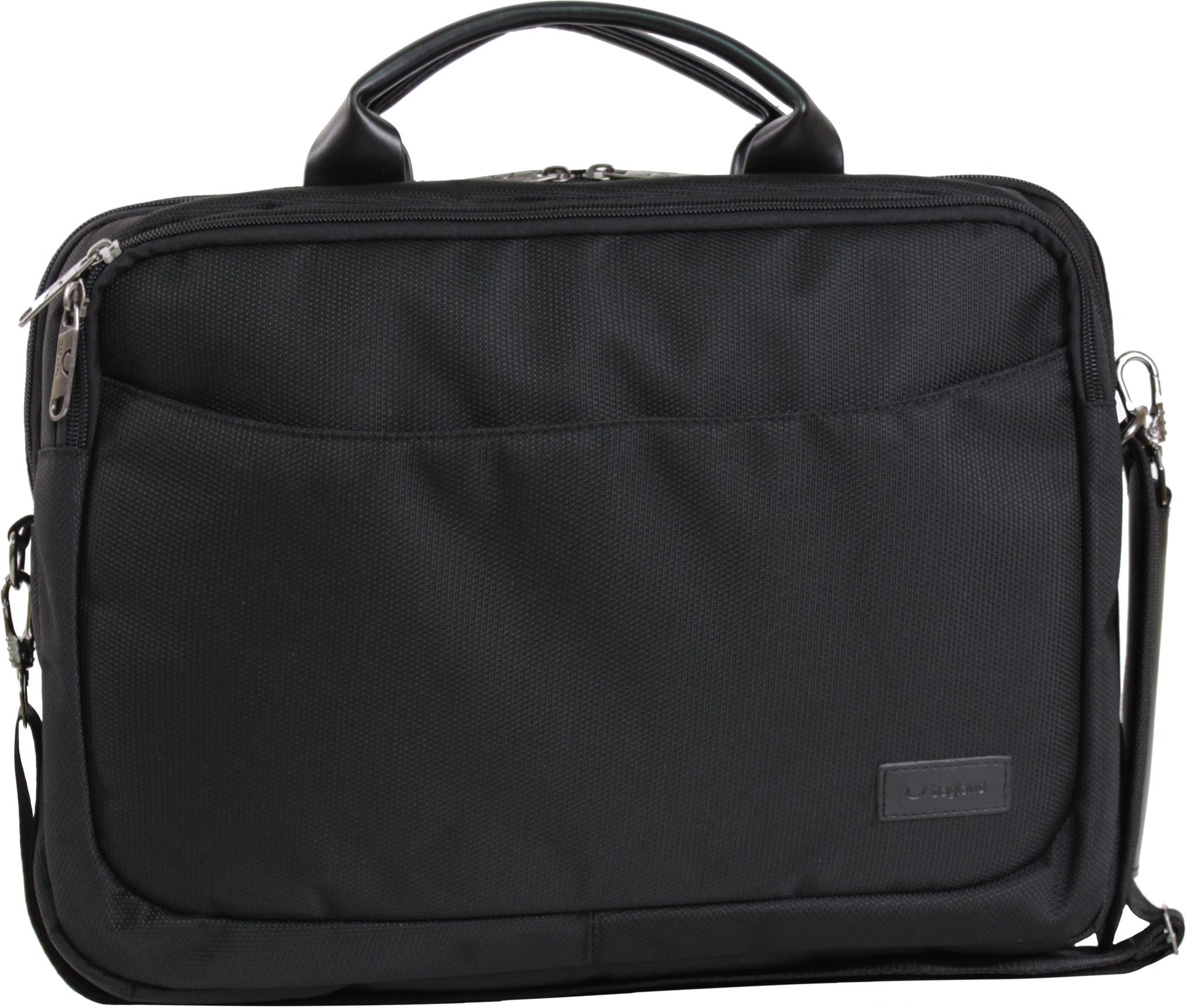 Сумки для ноутбука Сумка для ноутбука Bagland Fremont 11 л. Чёрный (0042780) IMG_0813.JPG