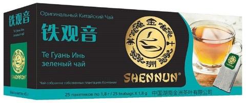 Чай улун SHENNUN Те Гуань Инь в пакетиках 25 шт
