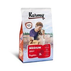 KARMY Медиум Эдалт сухой корм для собак средних пород (индейка) 2кг