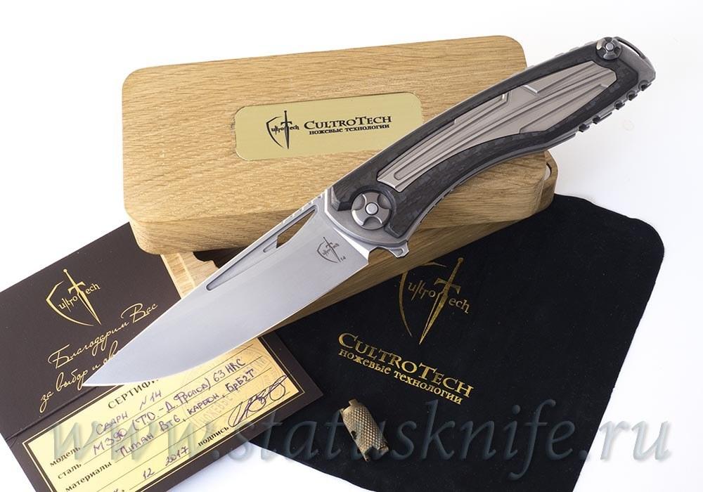 "Нож Сварн 2 ""Svarn 2 СutOut"" Mid-Tech M390 от CultroTech"