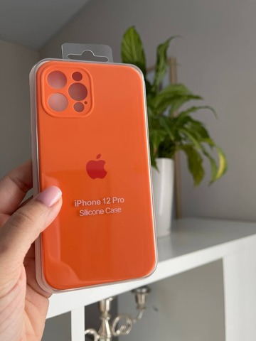 iPhone 12 Pro Max Silicone Case Full Camera /kumquat/