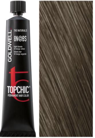 Goldwell Topchic 8N@BS - светлый блонд с бежево-серебристым сиянием (бежевая патина) TC 60ml