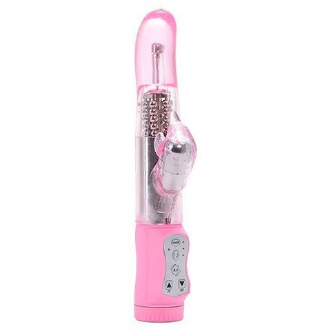 Розовый вибратор MAGIC TALES SWEET PINK DOLPHIN - 21,5 см.