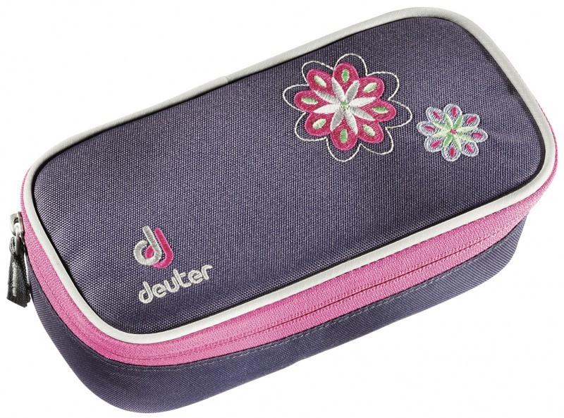 Пеналы для школы Пенал для школы Deuter Pencil Case для девочек blueberry-flower PencilCase-3035-16.jpg