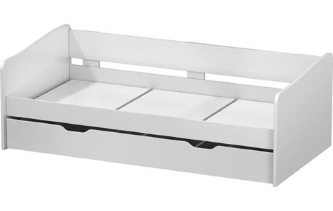 Кровать детская выдвижная Polini kids Fun 4200, белый