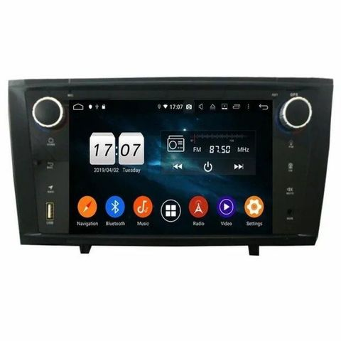 Штатная магнитола Toyota Avensis (2009-2013) Android 10 2/16GB DSP модель KD7249-P30 .
