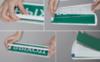 Конструкция корпуса плоского светодиодного светового табло позволяет производить замену одной надписи на другую