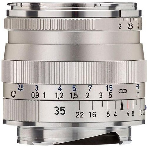 Объектив Carl Zeiss Biogon T* 35mm f/2 ZM Silver для Leica M