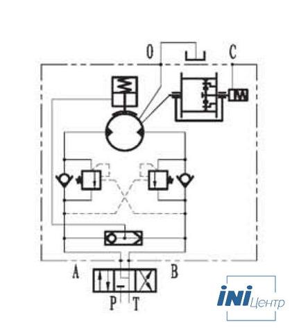 Эвакуационная лебедка IYJ2.52.5-25-76-12-ZPNL