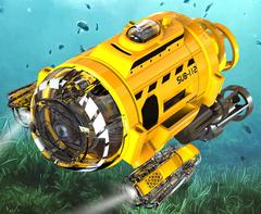 Silverlit Подводная лодка с камерой на ИК-управлении (на бат.) (82418)