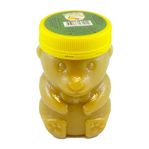 Мёд натуральный «Разнотравье» ПЭТ медведь, 450 гр