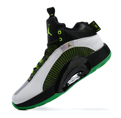 Air Jordan 35 'Black/Grey/Green'