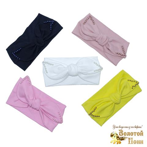 Повязка-ободок девочке (50-52) 210608-4о-242