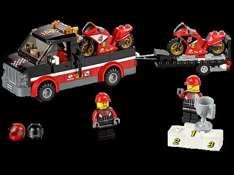 LEGO City: Перевозчик гоночных мотоциклов 60084 — Racing Bike Transporter — Лего Сити Город