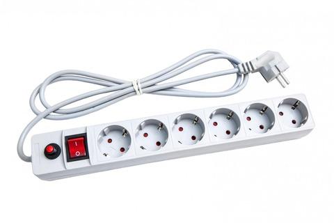 Удлинитель фильтр сетевой ПВС 3*0,75 Универсал, выкл., с индикатором, с/з 3м