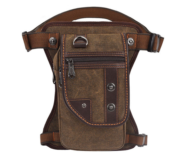 BAG397-2 Удобная набедренная мужская сумка из ткани