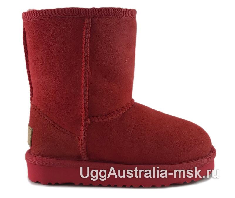 UGG Kids Classic II Red