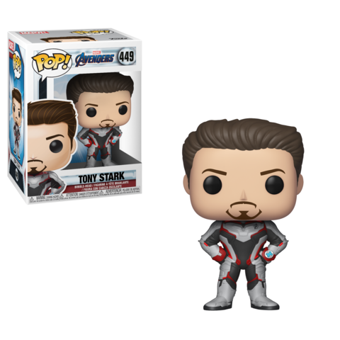 Фигурка Funko POP! Bobble: Marvel: Avengers Endgame: Tony Stark 36660