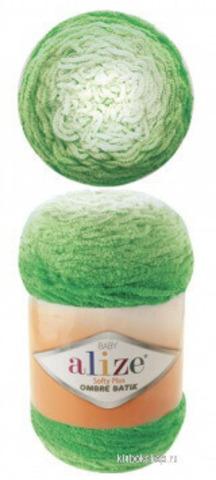 Alize Softy Plus ombre batik 7287, фото