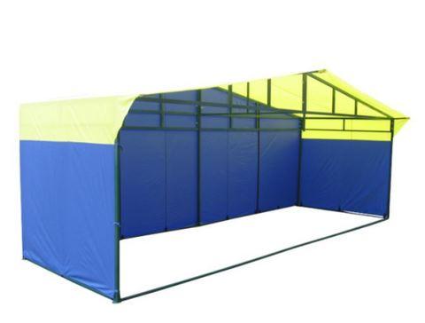 Торговая палатка «Домик» 6 х 2 К из квадратной трубы 40х20