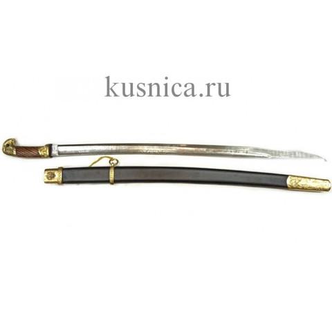 Шашка казачья образца 1881г. клинок дамасская сталь арт.Р1Д