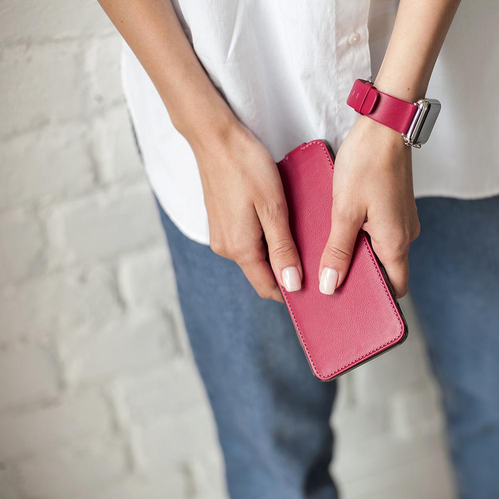 Case for iPhone XS Max - fushia