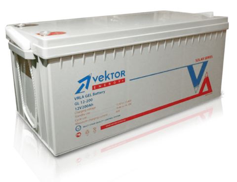 Аккумулятор VEKTOR ENERGY GL 12-180