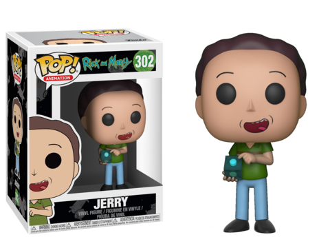 Фигурка Funko POP! Vinyl: Rick & Morty S3: Jerry