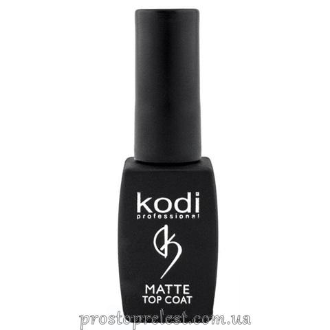 Kodi Professional Matte Top Coat - Матовое финишное покрытие