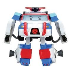 Robocar Poli Трансформер Поли (10 см) + костюм астронавта (83311)