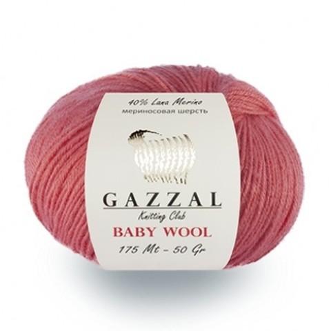 GAZZAL BABY WOOL (40% Мериносовая шерсть, 20% Кашемир ПА, 40% Полиакрил, 50гр/175м)