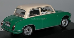 AWZ P70 Limousine green-cream 1955 IST020 IST Models 1:43