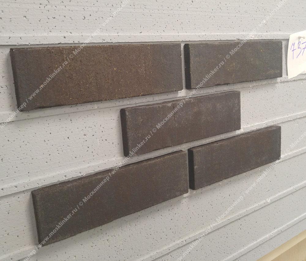 Feldhaus Klinker - R737NF14, Vascu Vulcano Verdo, 240x14x71 - Клинкерная плитка для фасада и внутренней отделки