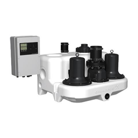 Насосная установка канализационная Grundfos Multilift MD.12.3.4 (1,2 кВт, 1430 об/м, с кабелем 10 м)