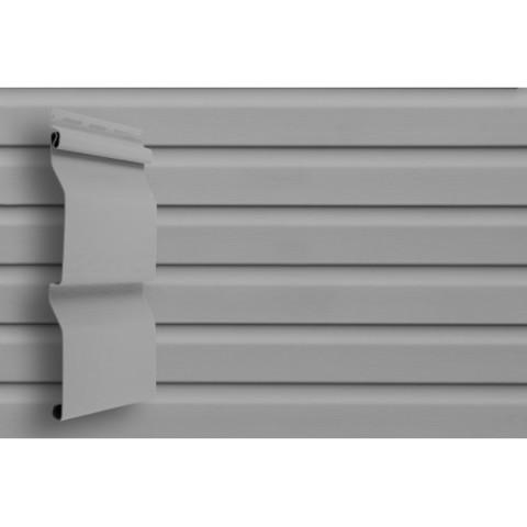 Сайдинг Виниловый Grand Line Аmerika D4,4 Серый