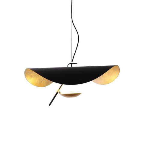 Подвесной светильник Lederam Manta by Catellani & Smith (черный)