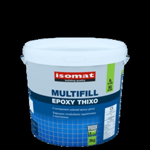 Isomat Multifill Epoxy Thixo/Изомат Мультифил Эпокси Тиксо двухкомпонентная эпоксидная затирка и клей для плитки