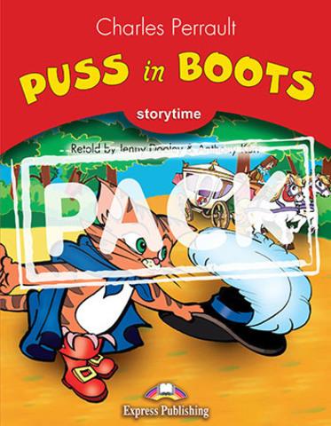 Puss in boots. Книга для чтения. Stage 2 (2-3 классы) с ссылкой на электронное приложение