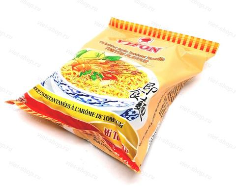 Пшеничная лапша быстрого приготовления со вкусом Том Ям, Vifon, 70гр.