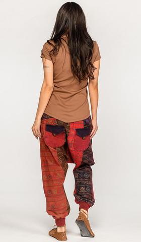 Цветные штаны на завязках